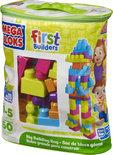 Mega Bloks First Builders 60 Maxi blokken met tas