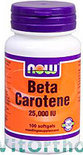 VitOrtho Now Bèta Caroteen 25.000 IE Tabletten 100 st