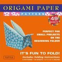 Origami Paper Patterns 6 3/4  48 Sheets