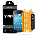 QooQoon silqShield™ Invisible Screenprotector voor Samsung Galaxy S4 Mini - Front met SmartApply