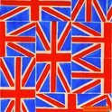 IHR Emma Bridgewater Union Jack Servet Kerst - Lunch