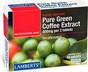 Lamberts Green Coffee Extract 400 mg - 60 Tabletten - Voedingssupplement