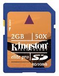 Kingston SD kaart 2 GB