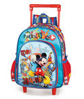 Mickey Mouse junior rugtas met trolley