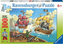 Ravensburger XXL Puzzel - Piratenslag