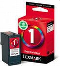 Lexmark 1 - Inktcartridge / Cyaan / Magenta / Geel