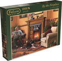 Jumbo By the Fireplace - Puzzel - 1000 stukjes
