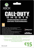 Microsoft Xbox Live Call of Duty: Ghosts Giftcard €15,-