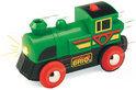 Brio Speedy Green Locomotief op batterij