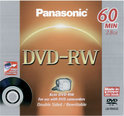 Panasonic DVD-RW 60min/2,8GB in jewelcase