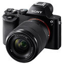 Sony Alpha 7 + 28-70 mm - Full-frame systeemcamera - Zwart