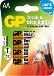 GP APC AA. Mignon Torch & Bike lights blister 4