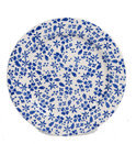 Kitchen Trend Products Ditsy Bord - Blauw - Ø 21 cm