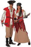Piraat Red Beard heer Maat 48