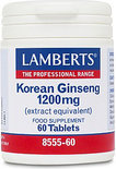 Lamberts Korean Ginseng 1200 mg Tabletten 60 st