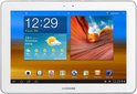 Samsung Galaxy Tab 10.1 (WiFi) - Wit met witte voorkant