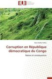 Corruption En Republique Democratique Du Congo