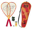 Speedminton Set S65 Orange/Rot