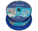 Verbatim DataLifePlus - 50 x CD-R - 700 MB 52x - wide printable surface - spindle