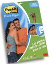 Post-It Fotopapier Sticky 10x15cm (20 vel + 5 gratis) halfglanzend