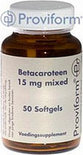Proviform Beta Carotene 15mg Mixed v