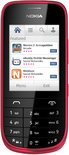 Nokia Asha 203 - Rood
