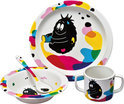 Bordje/Kom/Beker/Lepel - 4 Delige Set - Barbapapa Barbabob