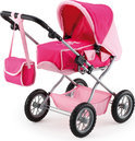 Poppenwagen met Luiertas - Roze