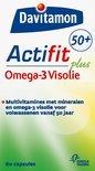Davitamon Actifit 50+ Omega-3 Visolie - 60 Capsules - Multivitamine