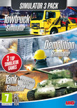 Simulatie Pack - Towtruck Simulator + Demolition Simulator + Tank Simulator