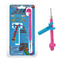 Loom Upgrade kit - Mini loom en metalen haaknaald Roze