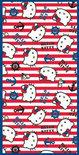Strandlaken Hello Kitty - Rood - 75x150 cm