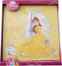 Disney Princess canvas klok geel