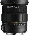 Sigma 17-50mm - f/2.8 EX DC OS HSM - geschikt voor Nikon