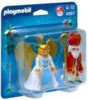 Playmobil Sinterklaas en Kerstengel - 4887