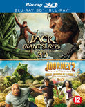Journey 2 & Jack The Giant Slayer (3D & 2D Blu-ray)