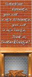Sinterklaas - Polyester Banner Sinterklaas Kapoentje (240 x 100 cm)