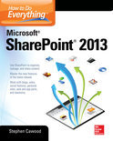 How to Do Everything Microsoft Sharepoint 2013 (ebook)