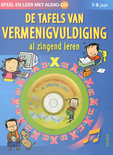 De tafels van vermenigvuldiging al zingend leren + CD