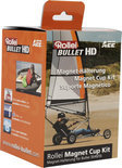 Rollei, Magnet Cup Kit for Bullet 3S / 4S / 5S Action Camera Accessoires (Black)