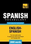 T&P English-Spanish Vocabulary 3000 Words (ebook)