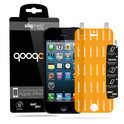 QooQoon silqShield™ Invisible Screenprotector voor Apple iPhone 5/5S/5C - Front met SmartApply