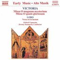 Victoria: Masses / Summerly, Oxford Camerata