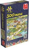 Jan van Haasteren Camping Chaos - Puzzel - 300 stukjes