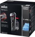 Braun Scheerapparaat Series 5 5050cc + 2 Clean & Renew Refills