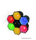 6 LED Lampen - Zwart