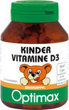 Optimax Kinder Vitamine D3 100 kauwbeertjes