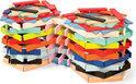 Kubix 150 gekleurde plankjes