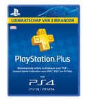 Sony PlayStation Plus Abonnement Nederland 90 Dagen PS4 + PS3 + PS Vita + PSN