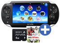 Sony PlayStation Vita Wifi + Fifa Football Voucher + 4GB Memory Card